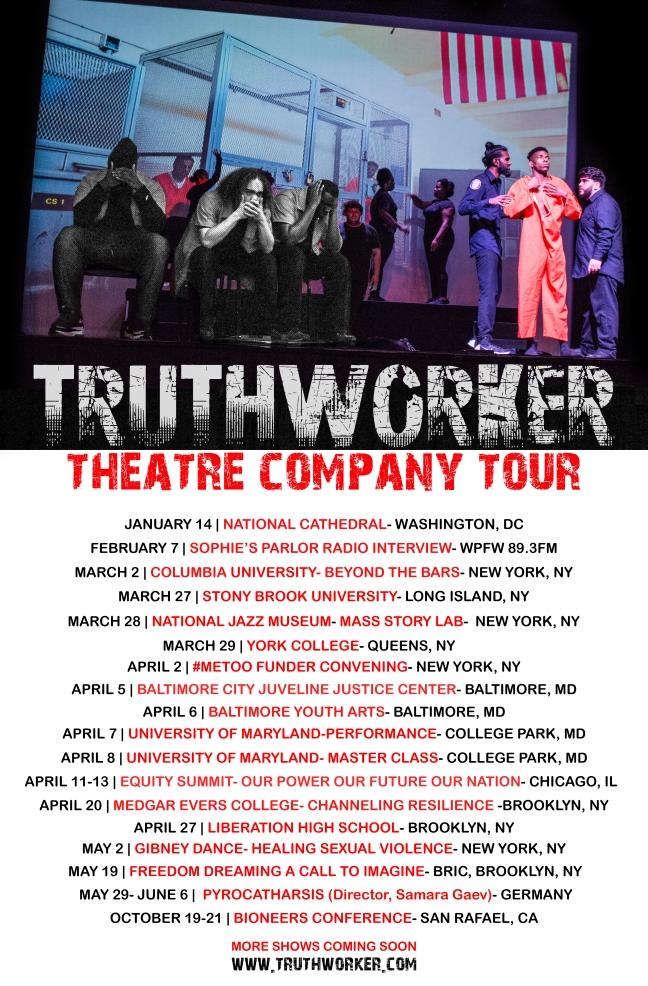 truthworker 2018 tour